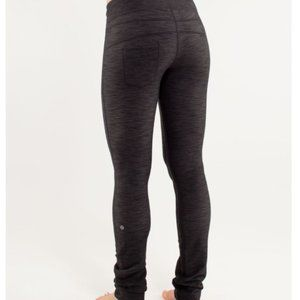Lululemon Energize Pant Black Denim Size 6